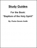Study Guides for Baptism of the Holy Spirit